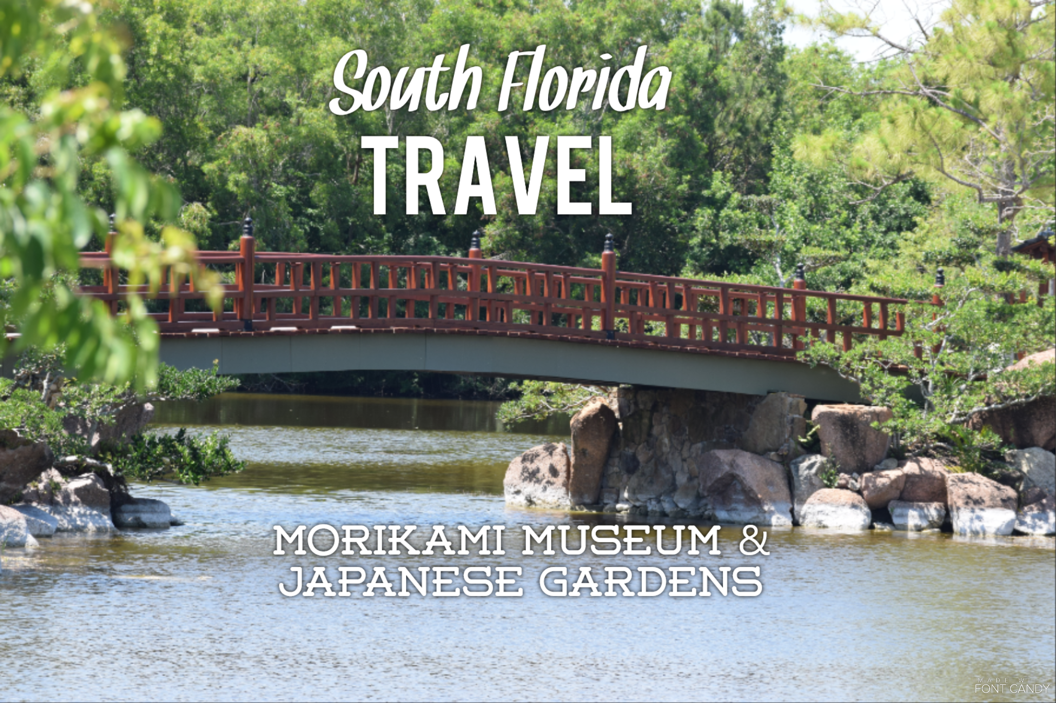 South Florida Travel:  Morikami Museum & Japanese Gardens