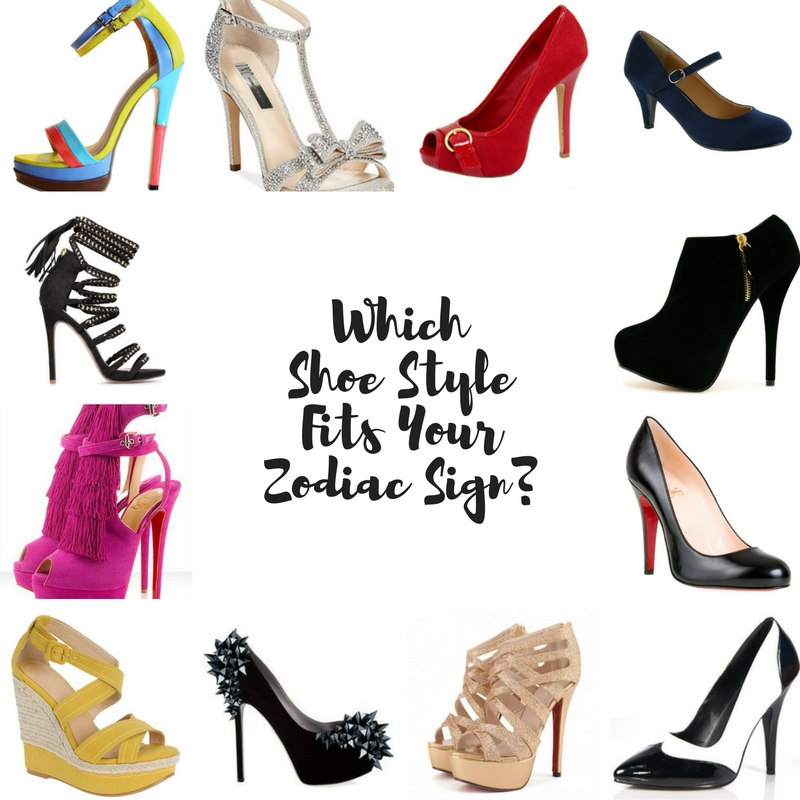 Which Shoe Style Fits Your Zodiac Sign?