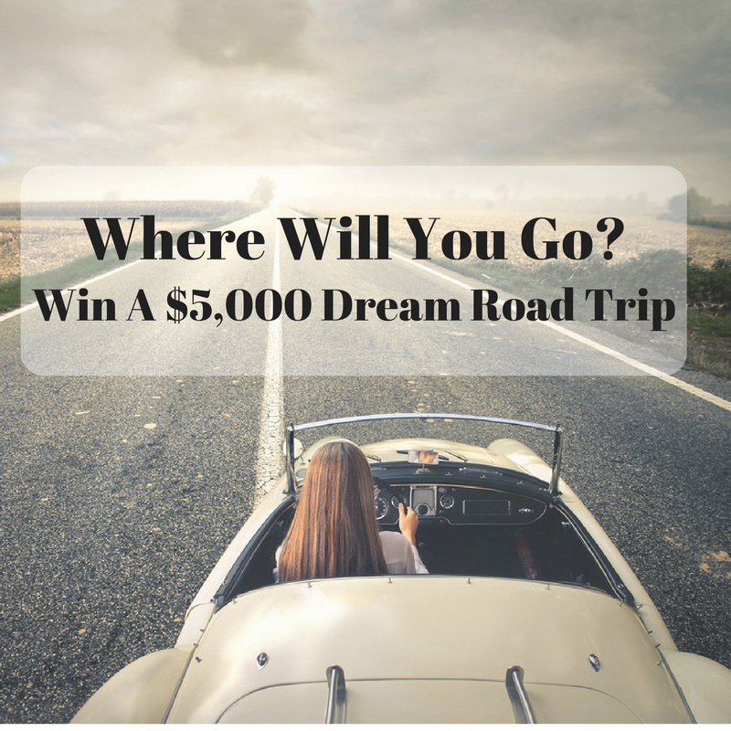 Win A $5,000 Dream Road Trip Giveaway