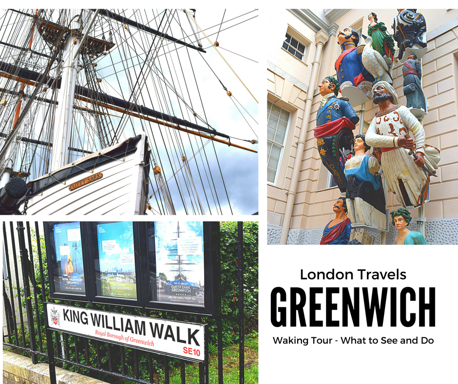 London Travel:  A Walking Tour of Greenwich UK - What to Do & See