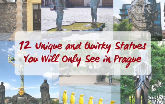 12 Unique and Quirky Statues You Will Only Find In Prague