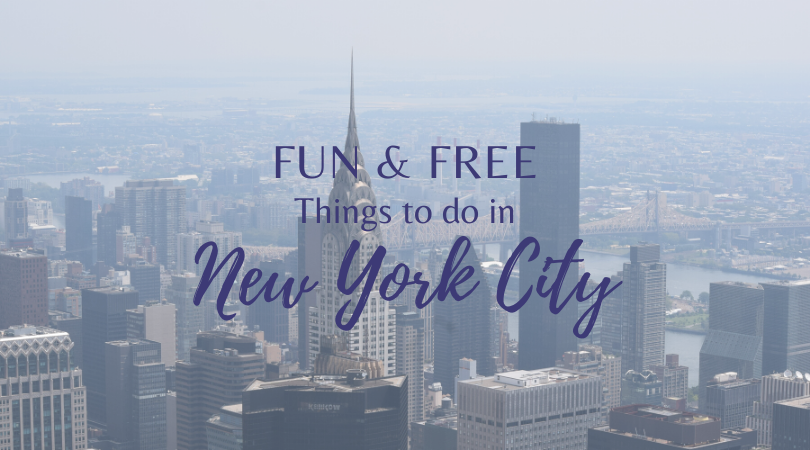 Fun & Free Things To Do In New York City
