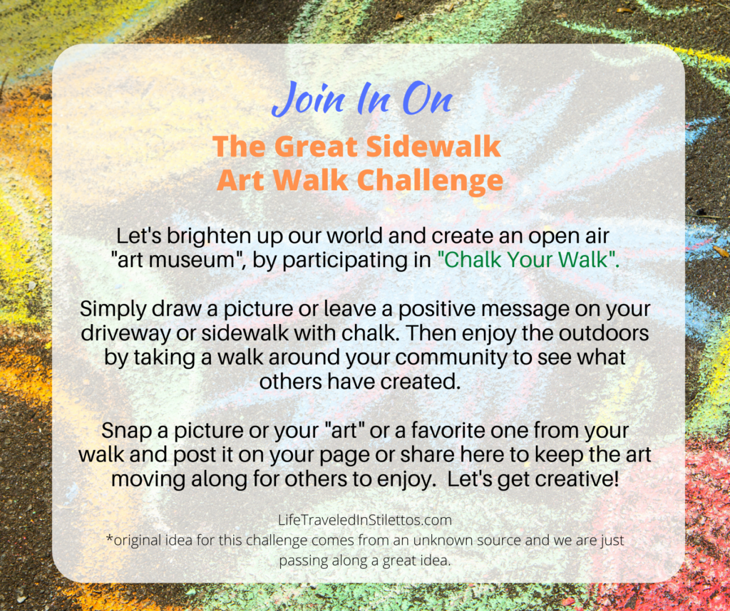 The Great Sidewalk Art Challenge