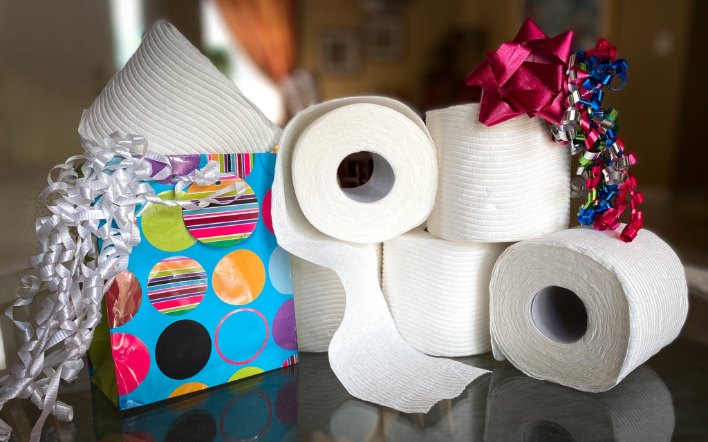 Who Knew That Toilet Paper Would End Up Being The Ultimate Gift -- It Seems As If My Son Did